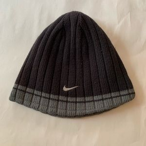 Nike reversible beanie.